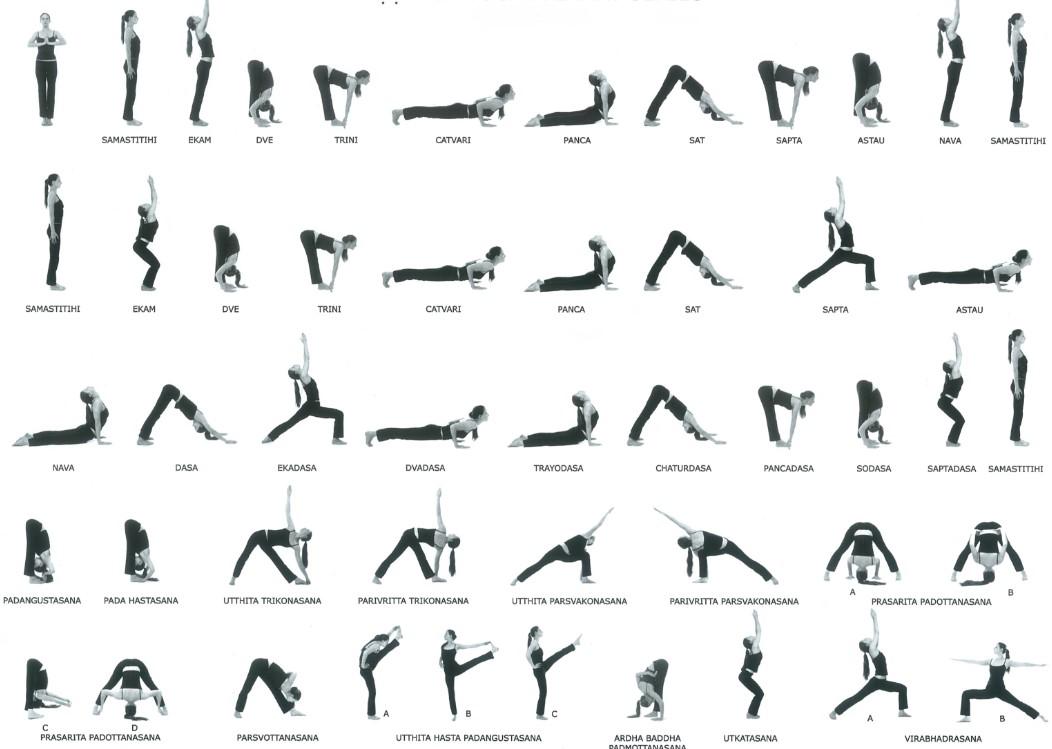 Другие позы йоги