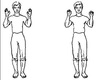 дыхание по стрельниковой упражнения - ладошки
