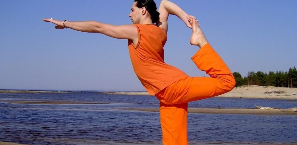 Поза аиста - йога