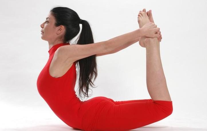 Поза лука - йога