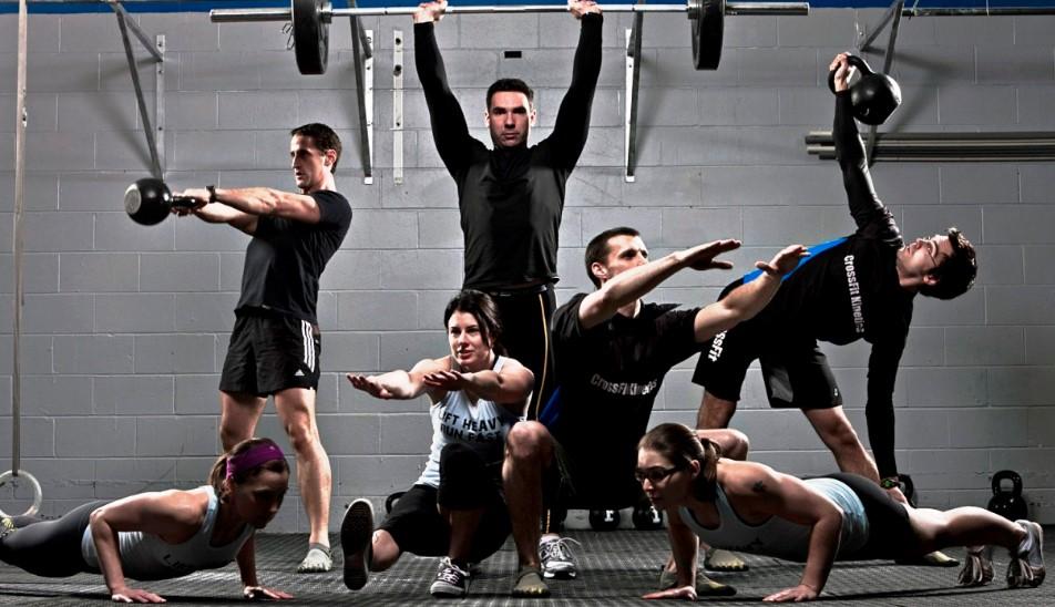 Тренировка кроссфит - для начинающих