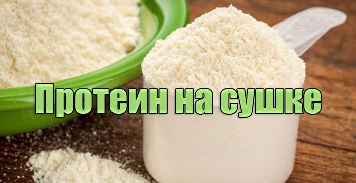 Протеин на сушке