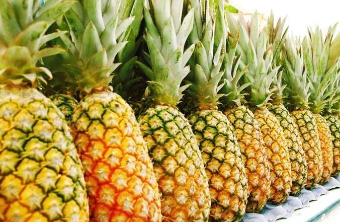 хранение ананасов