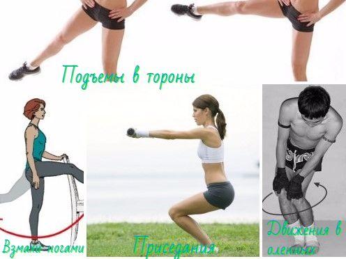 Утренняя зарядка - упражнения для ног