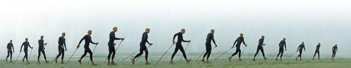 Скандинавская ходьба - техника